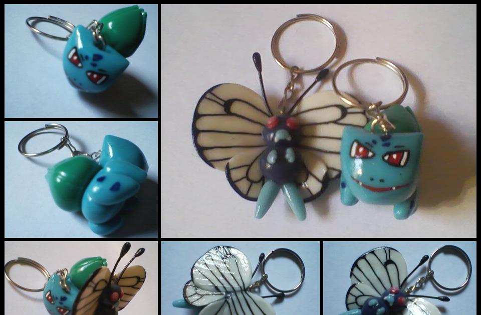 Marisol maryline chaveiros de biscuit butterfree e bulbasaur - Pagina da colorare bulbasaur ...