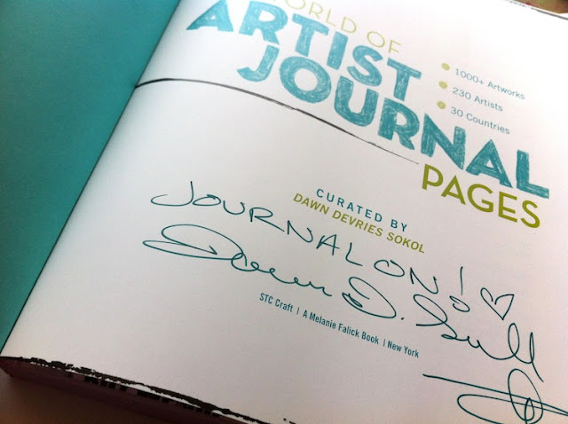 Martice Smith II, PUBLISHED in A World of Artist Journal Pages