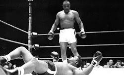 SONNY LISTON Knocking Out FLOYD PATTERSON