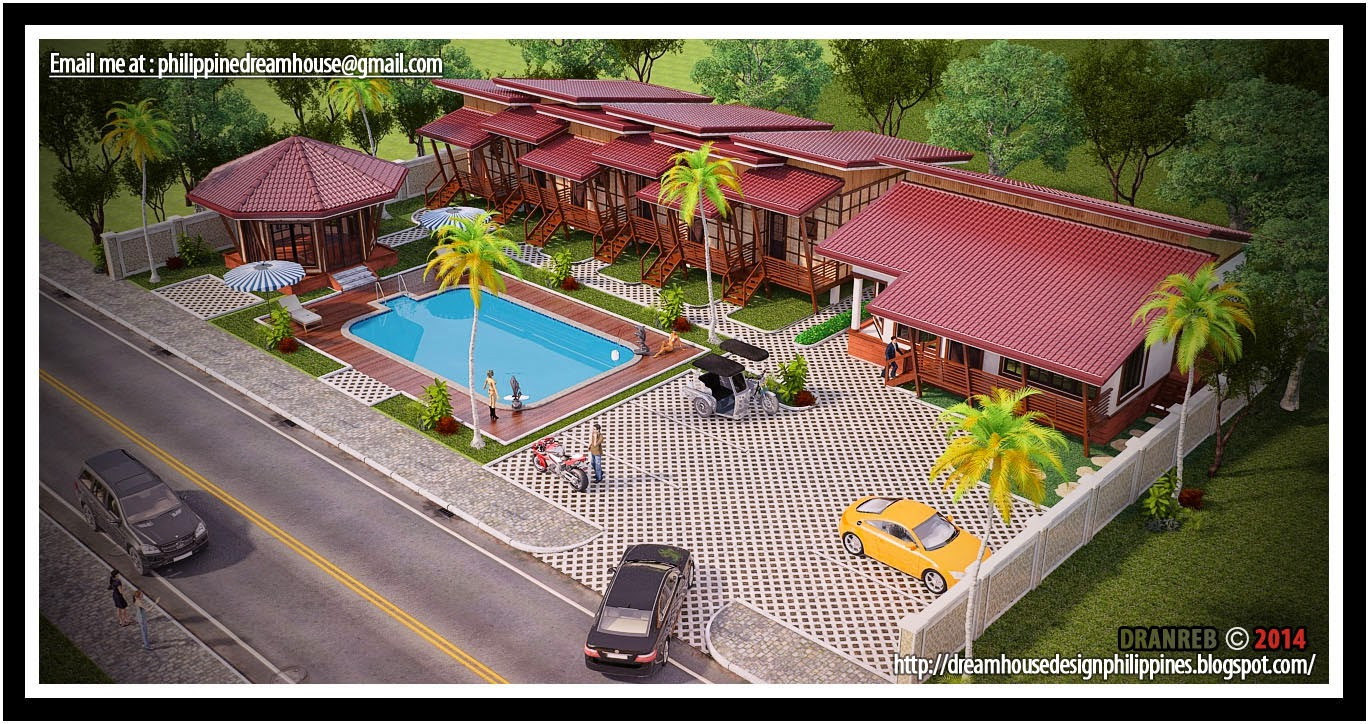 Philippine dream house design mini resort and apartment for Best house resort design