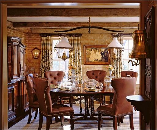 english country dining room design ideas room design inspirations. Black Bedroom Furniture Sets. Home Design Ideas