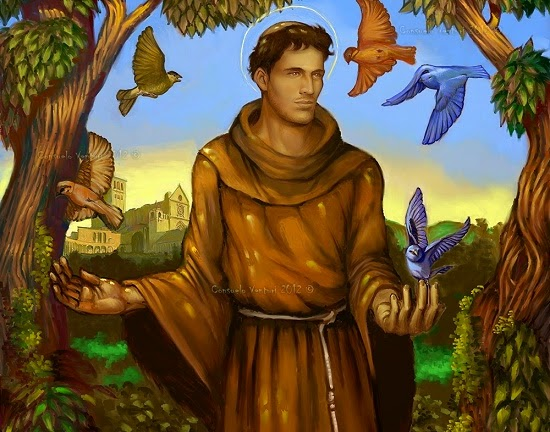 Oggi ottobre si festeggia san francesco d assisi egli nacque