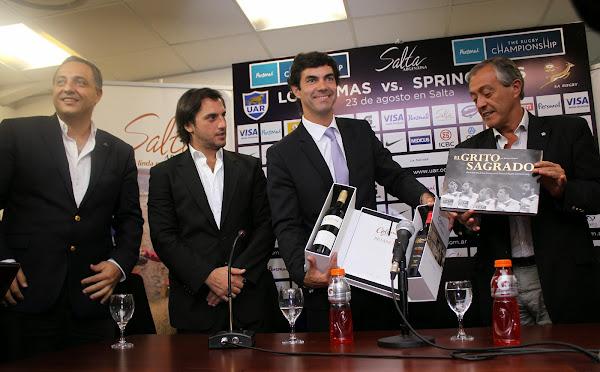 Presentación Oficial de Salta como sede del Personal Rugby Championship