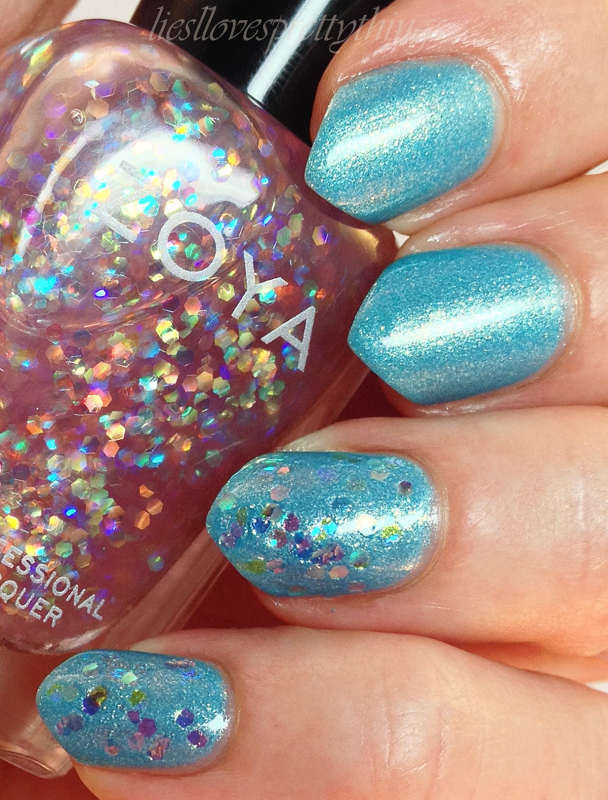 Zoya Monet swatch and review