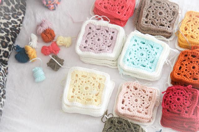 couverture crochet crochet