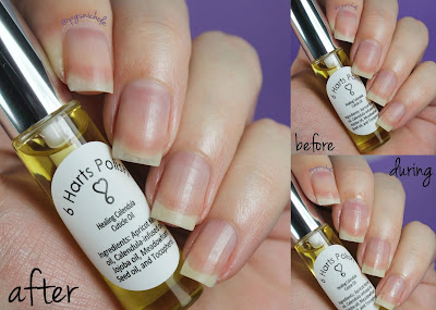 6 Harts Polish Honey Bee Cuticle Oil