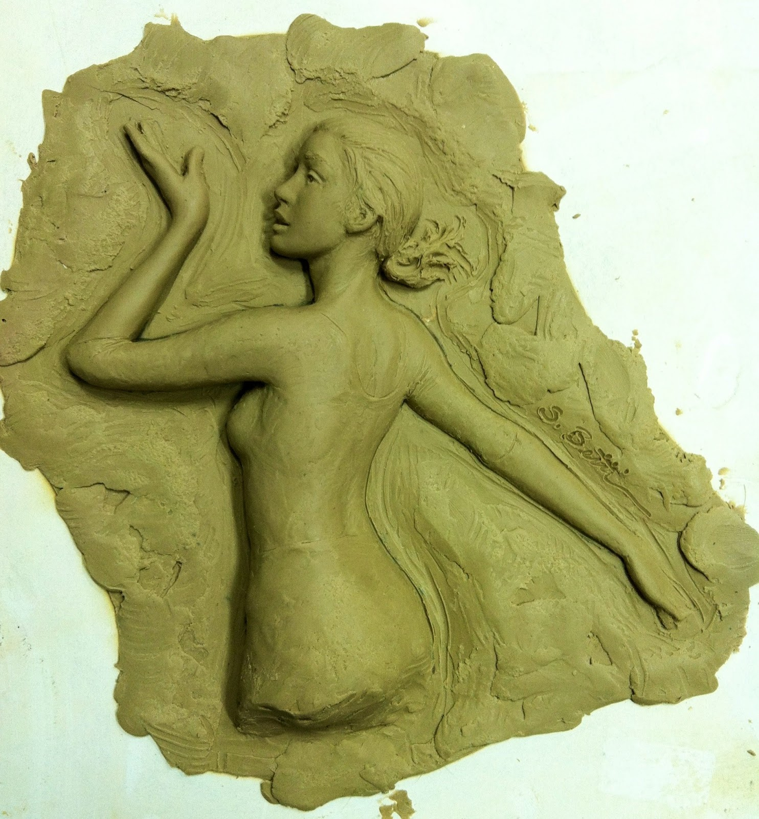 Sutton betti sculpture and drawings relief sculptures