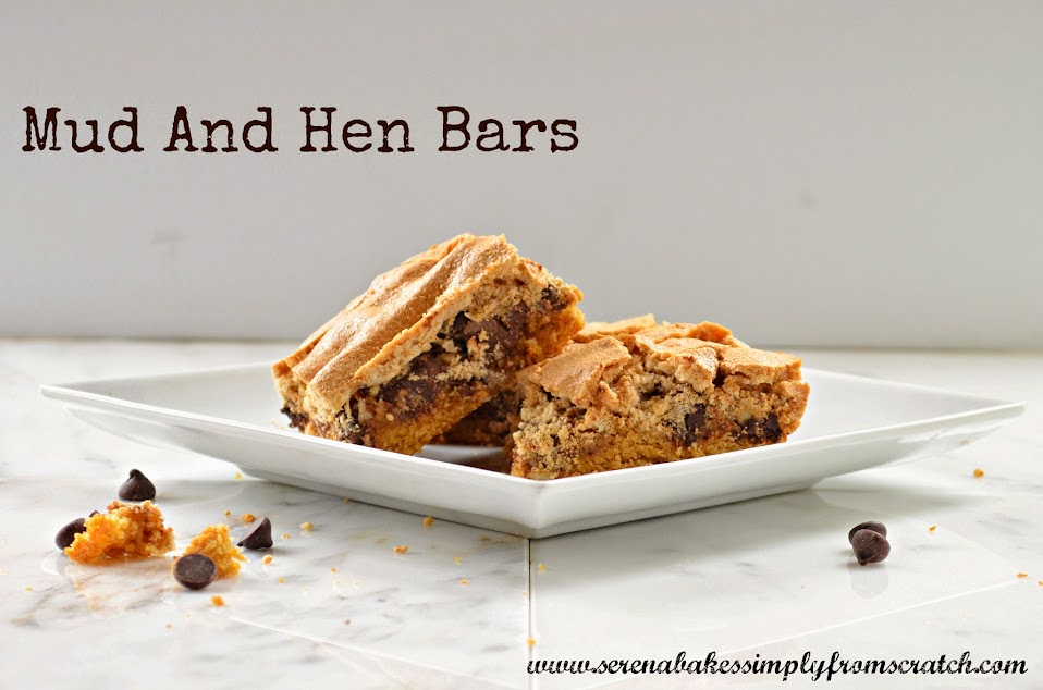 Mud and Hens Bars are a delicious must make cookie bar. So good!