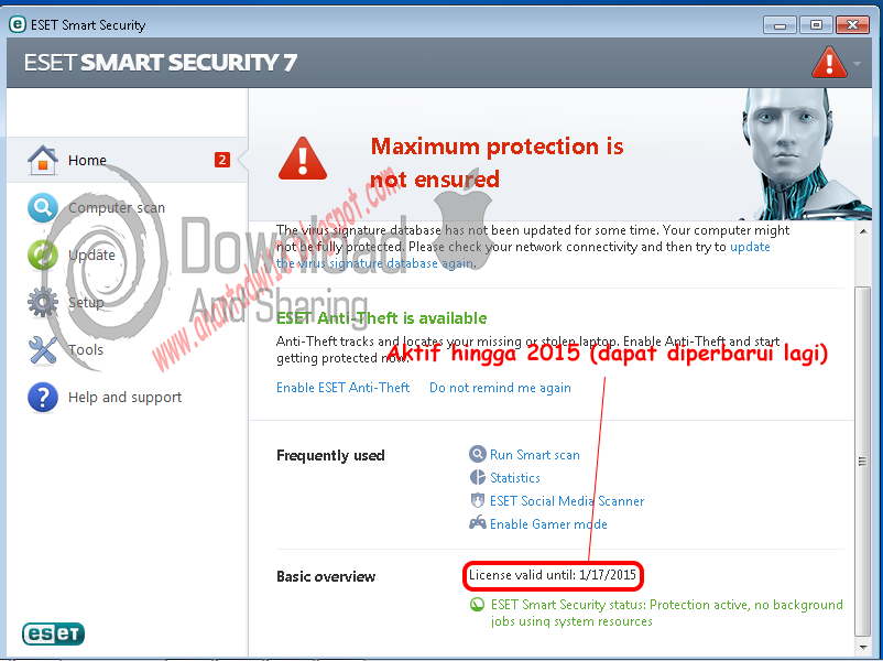 KeyGen / Crack ESET Smart Security 7 (License Key)