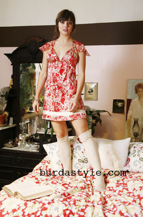 Free 1960's Sewing Pattern - Bambi Baby Doll Nighty