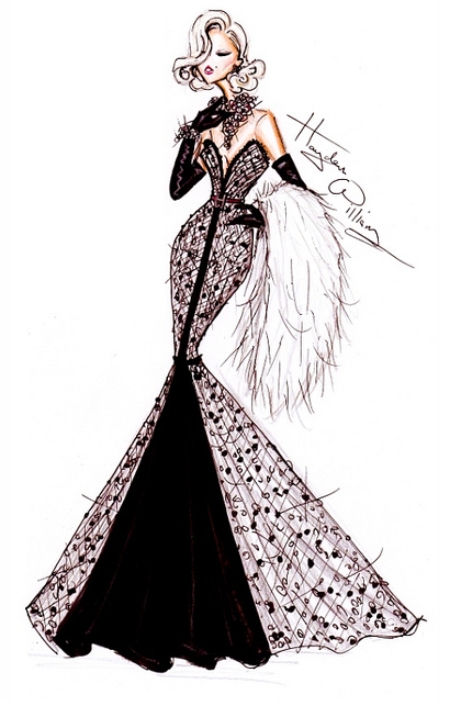 Dollyu0026#39;s Designs Fashion Sketches From Hayden Williams