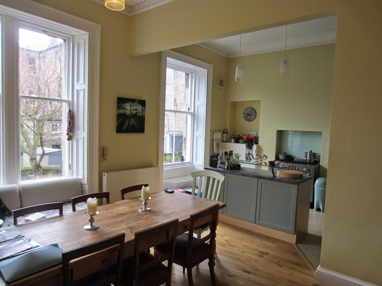 The edinburgh property blog rental property in edinburgh for Terrace kitchen diner