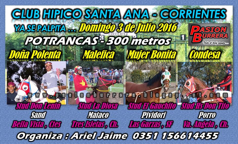 SANTA ANA - 3 - POTRANCAS