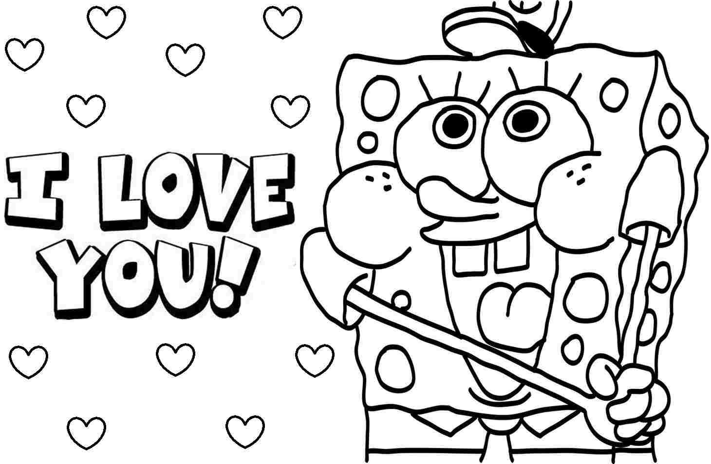 Gambar Sketsa Kartun Spongebob