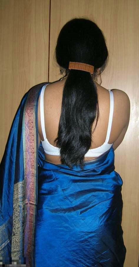 Local Village Aunty blue Blouse Removing image - sexy actress girls
