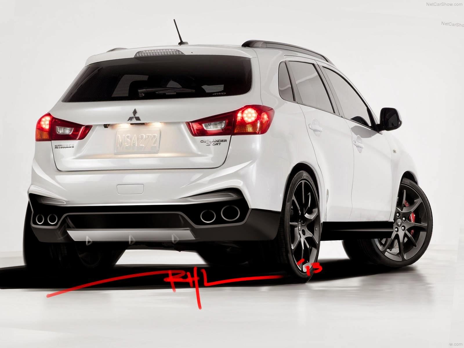 Mitsubishi outlander sport body kit