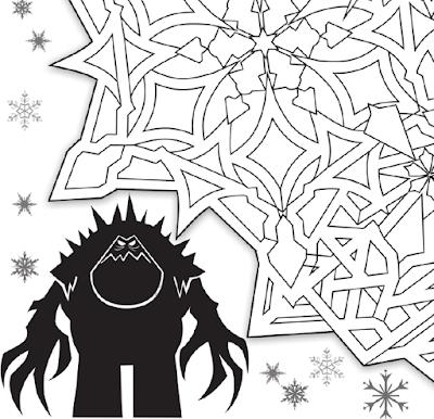 Frozen: Laberinto de Marshmallow y Olaf para Imprimir Gratis.