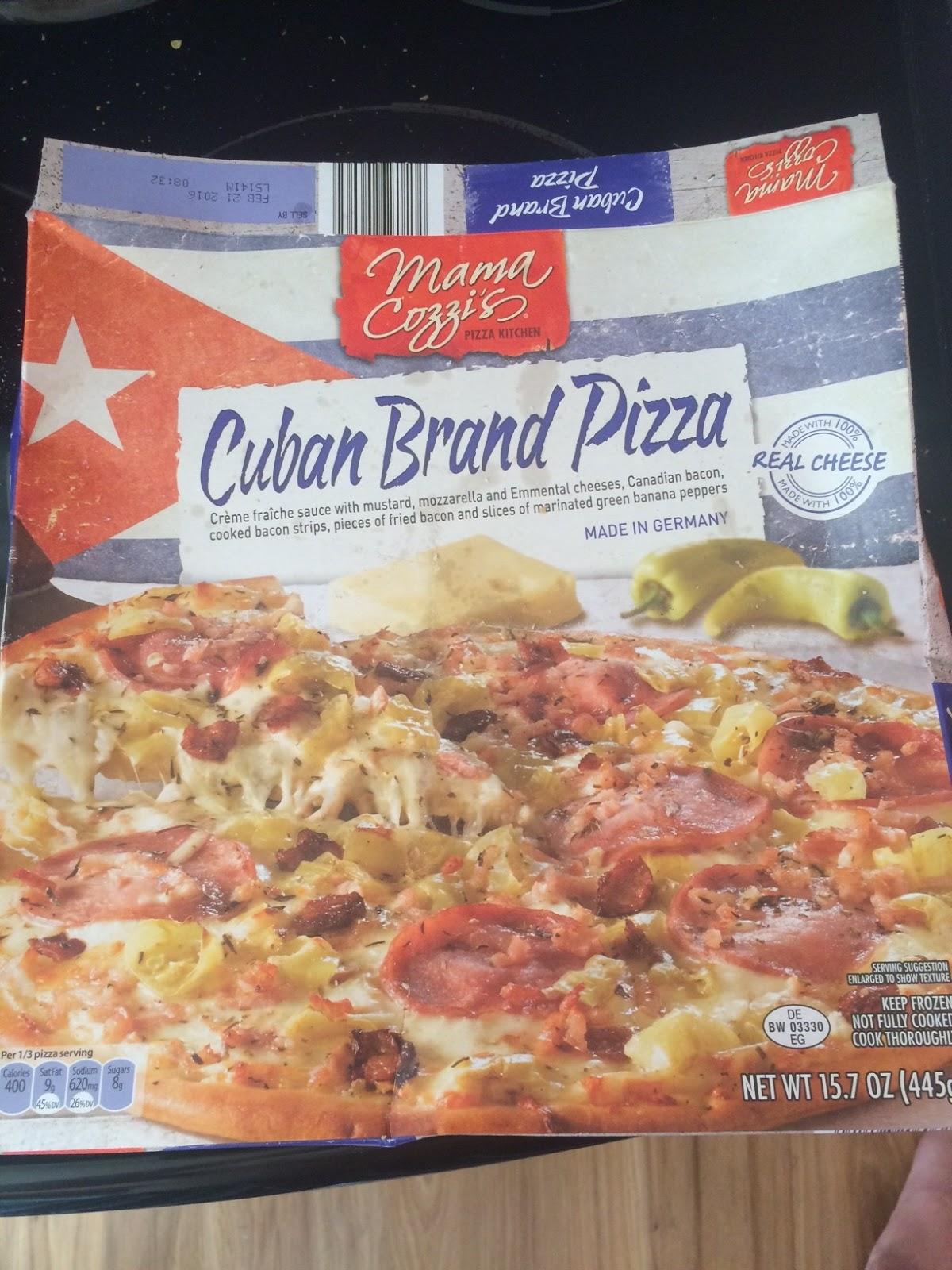 Mama Cozzis Cuban Brand And Mediterranean Style Flatbread Pizzas Aldi