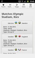 EURO 2012 Match Schedule