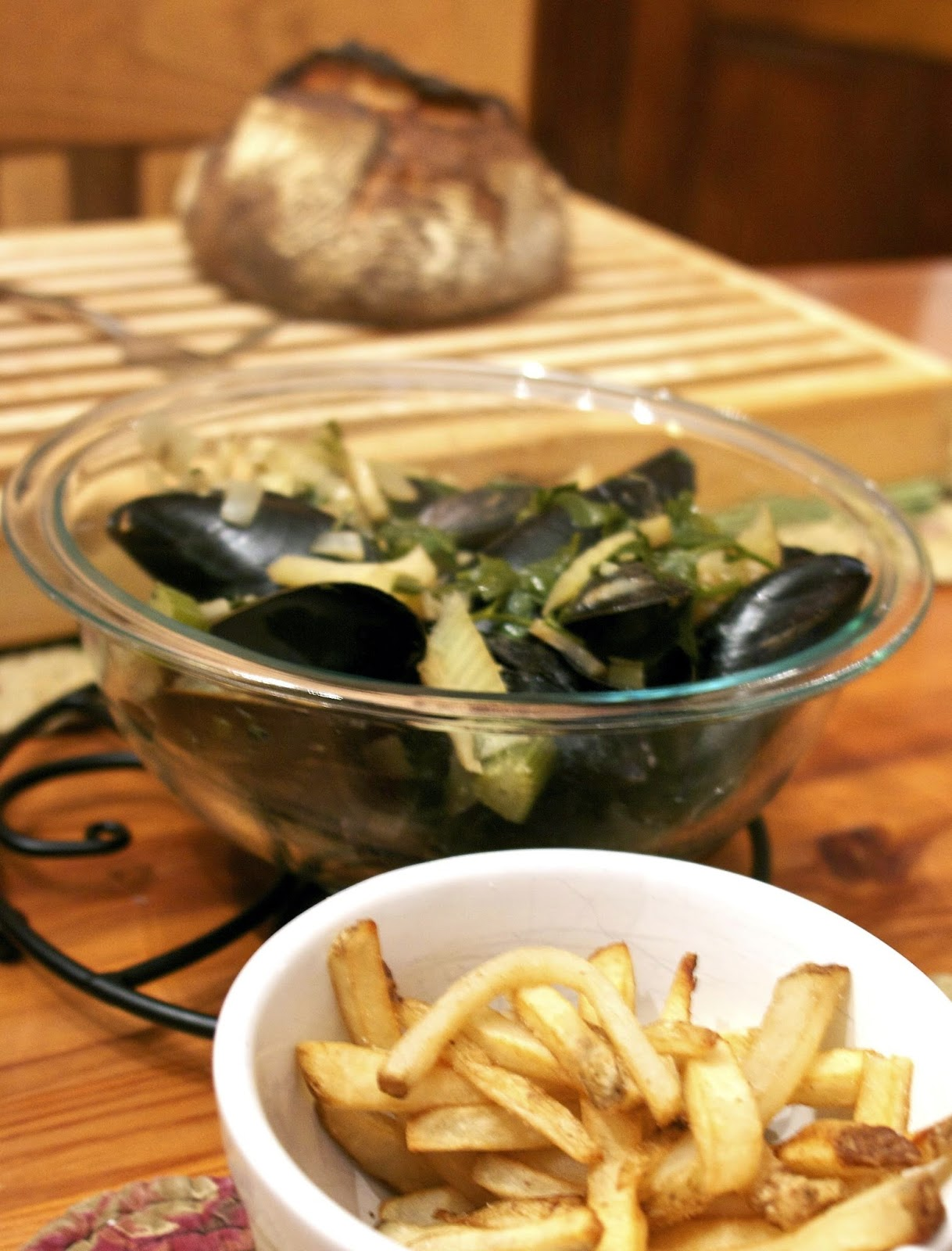 Belgium Mussels- simplelivingeating.com