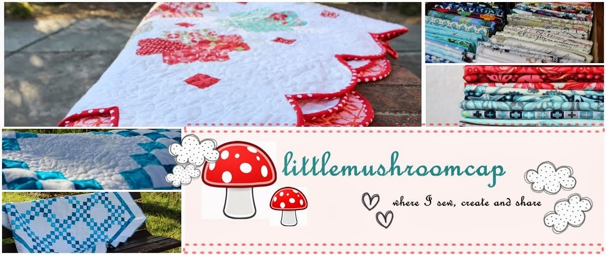 Sewing under the littlemushroomcap