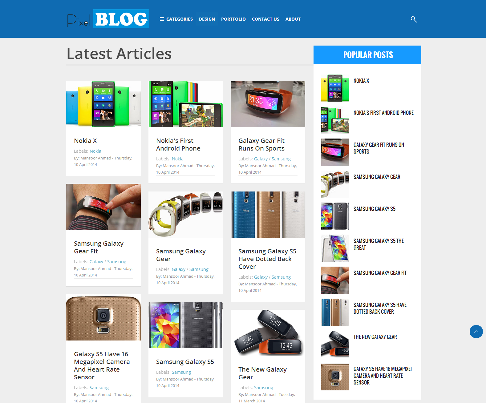 Share Pixel Blog Responsive Blogger Template