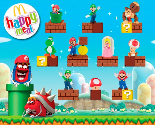super mario happy meal portada