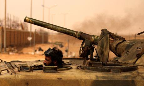 NATO Terrorists Target Syria & Algeria LibyanRebelTank