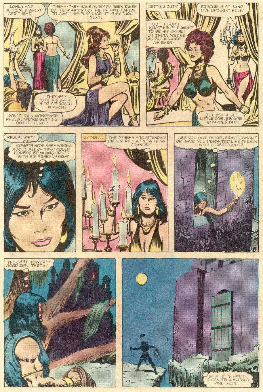 Conan the Barbarian (1970) Issue #142 #154 - English 12