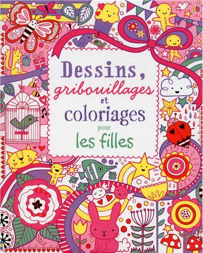 Les mercredis de julie dessins gribouillages et - Dessin pour les filles ...