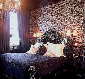 Beauty rock decora o g tica quartos for Cama gotica