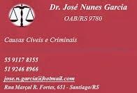 Advogado José Nunes Garcia