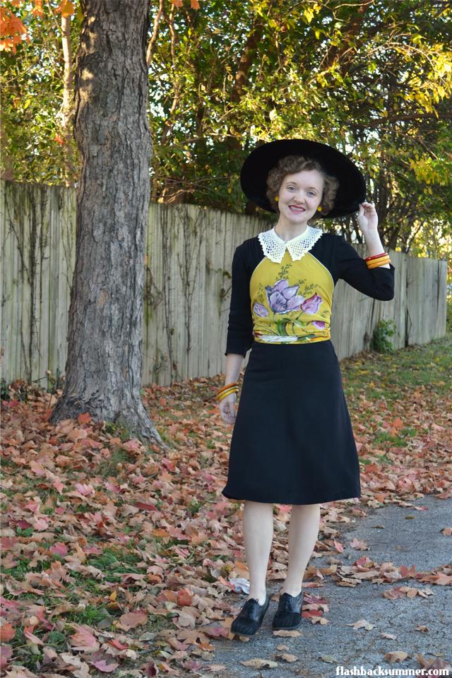 Flashback Summer: Sunshine on a Cloudy Day - 1930s 1940s Autumn fashion
