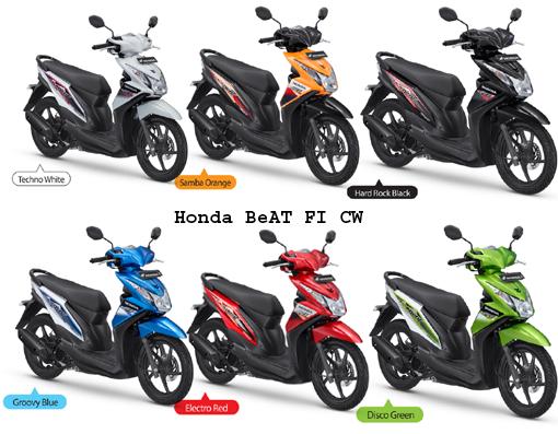Honda BeAt merupakan varian matic keluaran Honda dengan desain yang ...