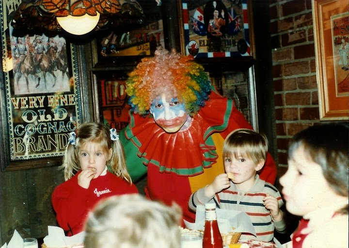 Birthday party with clown at Pizza, Pipes and Pandemonium