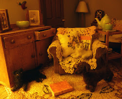1940's Terrace Dollshouse