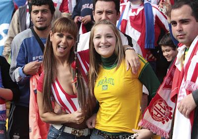 Copa America fans - Photos - Soccers sexiest fans invade