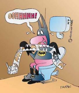 batman es valiente en todos sus momentos Imagenes de dibujos graciosos
