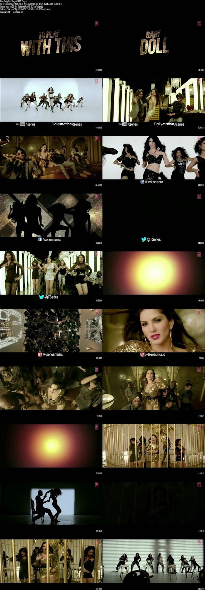 Mediafire Resumable Download Link For Video Song Baby Doll - Ragini MMS 2 (2014)