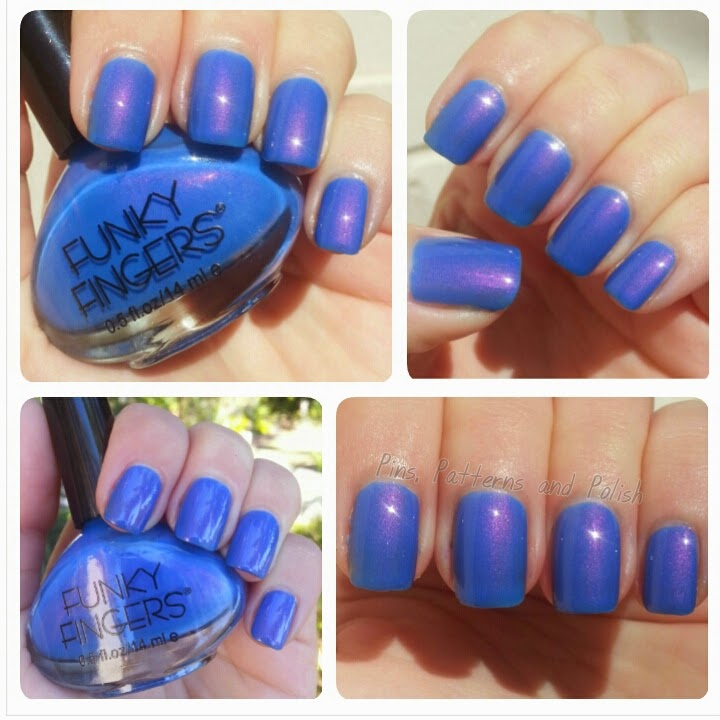 Pins, Patterns and Polish: Funky Finger Let The Beat Drop Swatches + ...