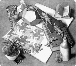 M.C.Escher - Reptiles