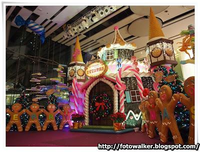 荃新天地聖誕裝飾2012
