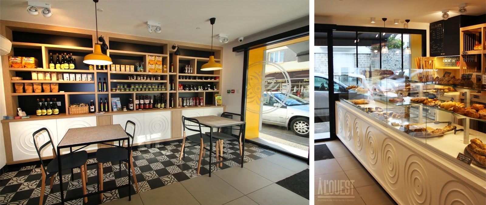 A l 39 ouest boulangerie pains kouign quimper for Interieur et design avis