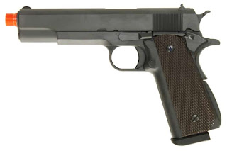 GP WE 1911 DSM AirSplats Memorial Day Promo: Military Style 1911 Airsoft Guns