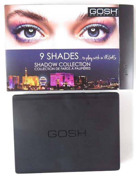 GOSH 9 Shades 003 to play with in Vegas 9 šešėlių paletė