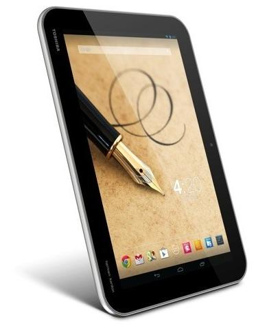 Toshiba Excite Write - Full tablet specifications