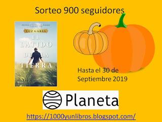 Sorteo en Blog 1000 y un Libros y Reseñas.