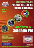 Apostila Concurso da PM Santa Catarina - Vagas para Soldado (IOBV)