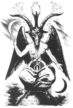 Allgemeine Freimaurer-Symbolik & Marionetten-Mimik - Seite 14 Baphomet+Goat