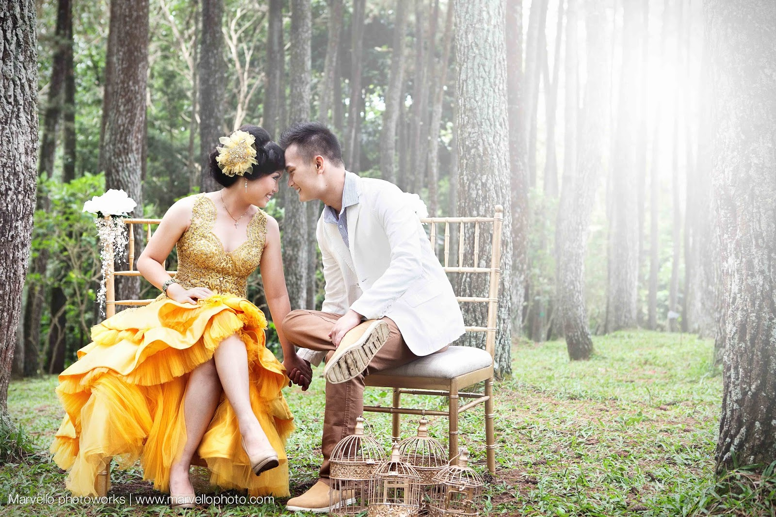 Marvello photoworks we make our own fairytale gown by jimmy fei fei make up by tien fei fei decoration by dvalue photos taken at hutan raya juanda bandung by marvello photoworks junglespirit Image collections